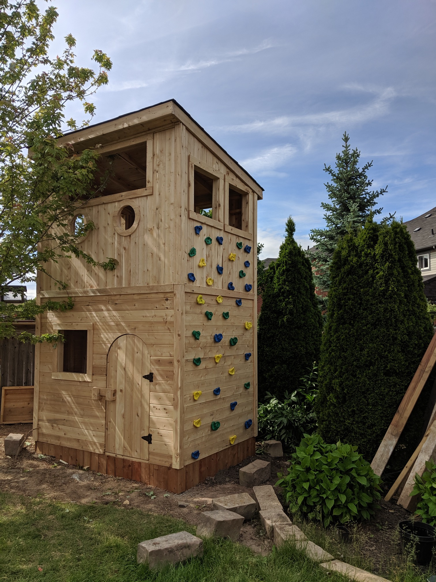 2. Custom 2-Storey Playhouse -
