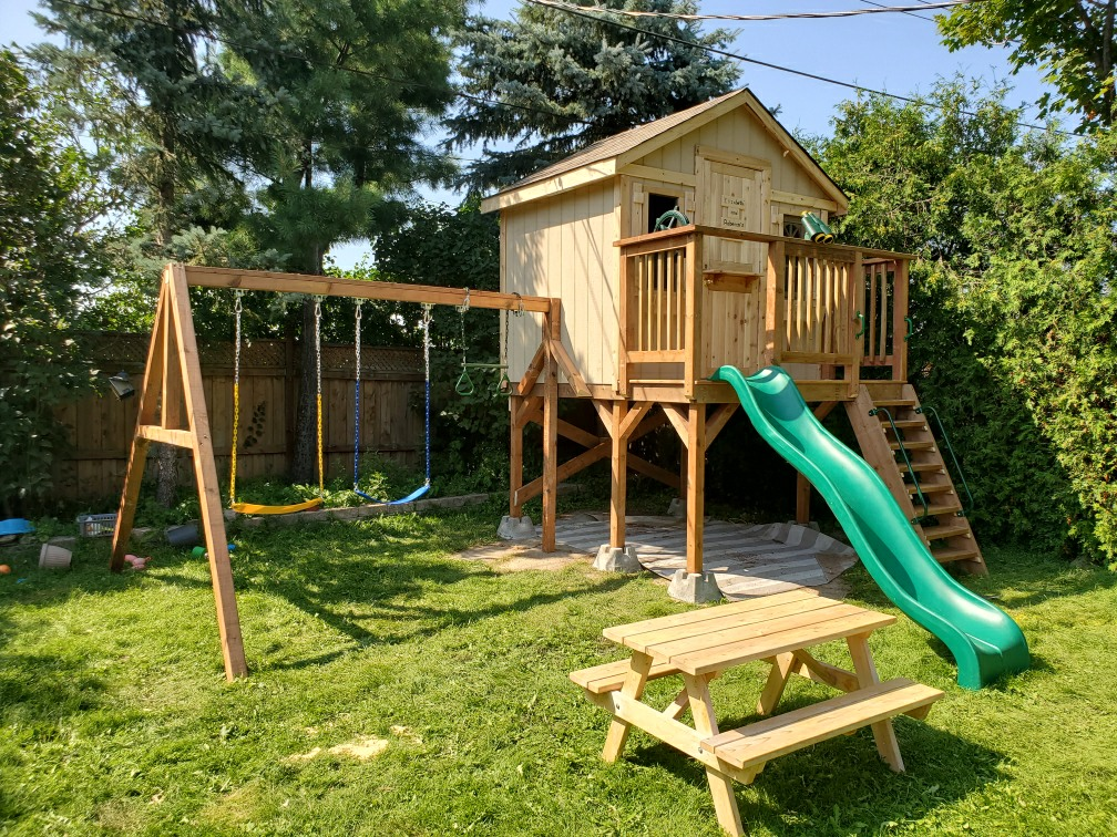 1. Custom Playhouse -