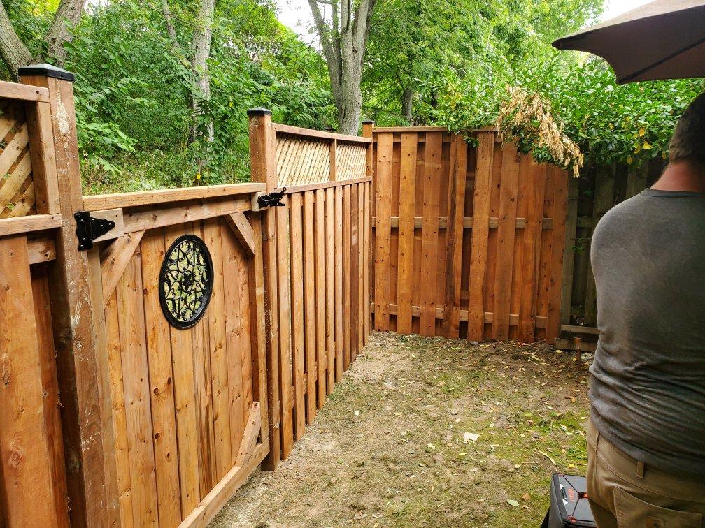 Custom Cedar Fence & Gate