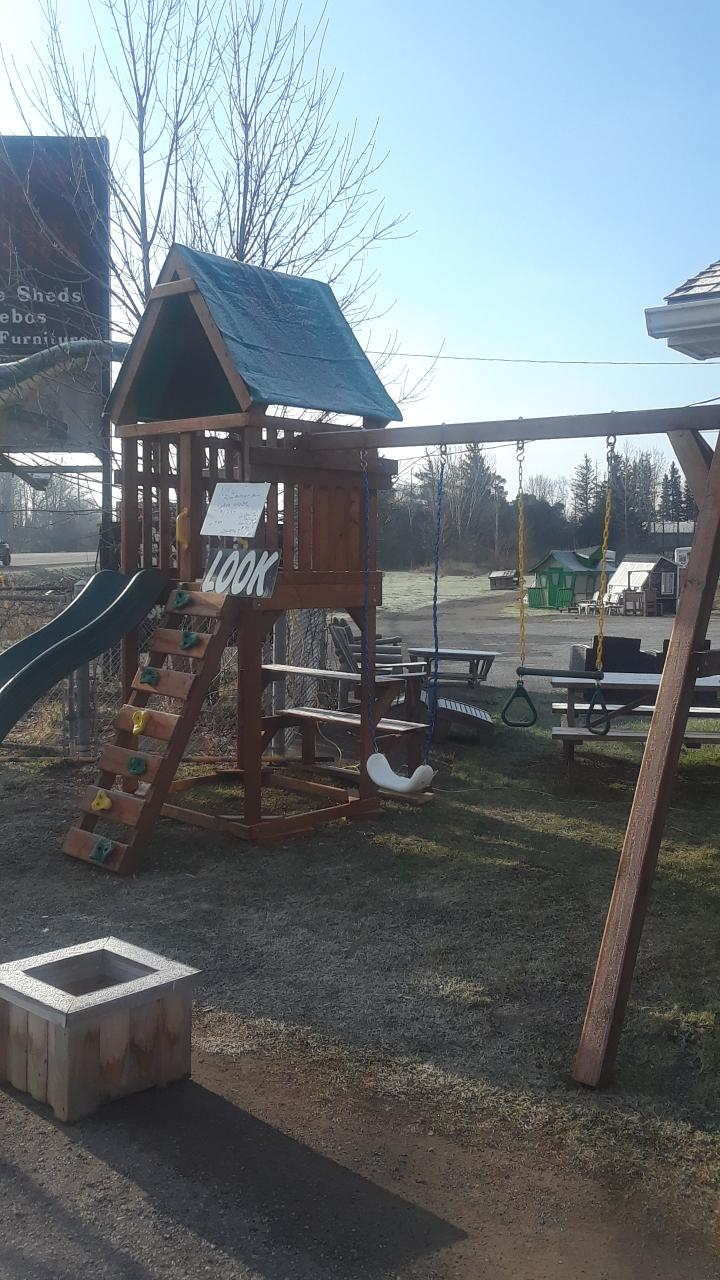 3. Custom Play Centre - $1,999, delivery extra