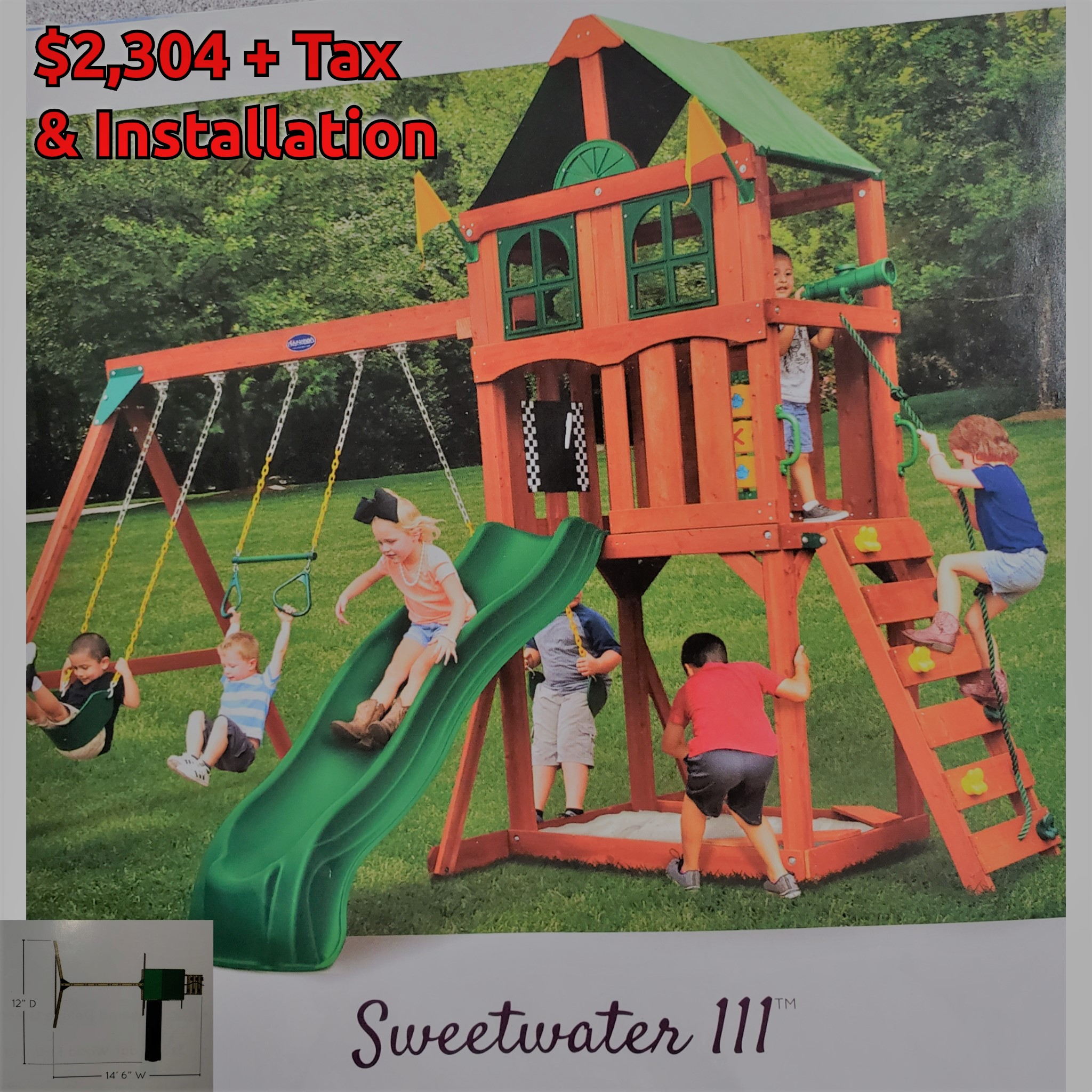 Sweetwater 3 - $2,304