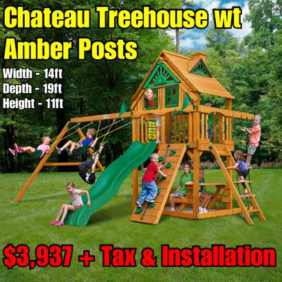 OLD Horizon (Treehouse Add On) NEW Chateau Treehouse wt Amber Posts NEW